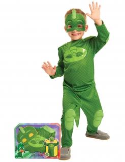 Pyjamasankarit™ Gekko -naamiaisasu lapsille