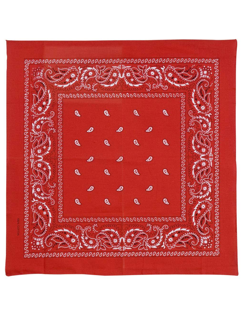 Punainen bandana-huivi aikuisille-1 95e1f8eea2