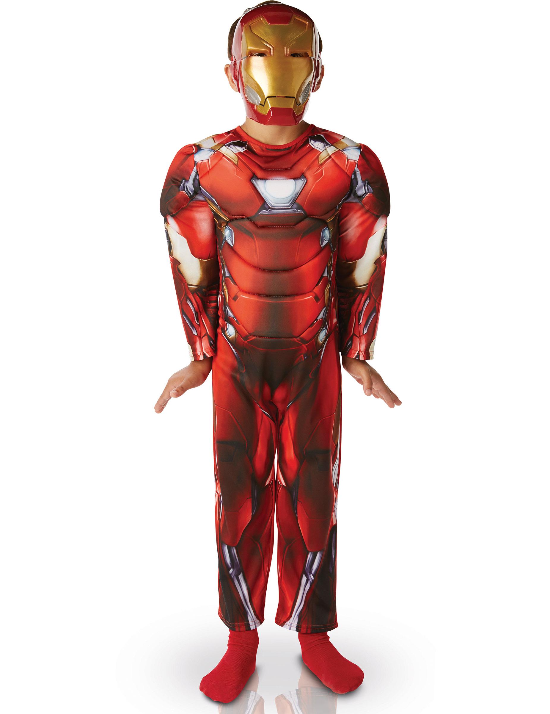 iron man puku lapsille