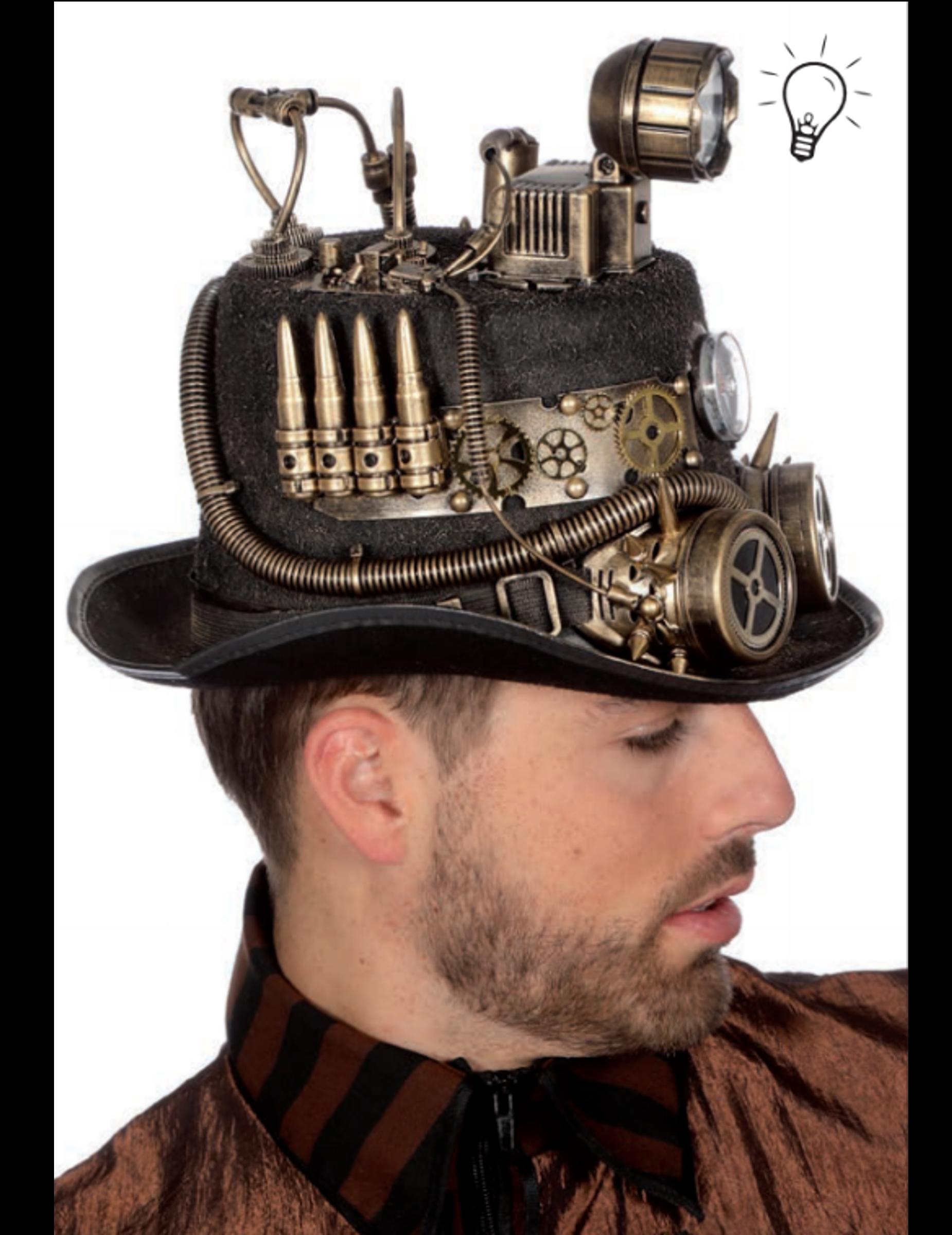 Steampunk -hattu 763b7099e6