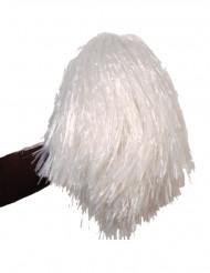 Valkoinen pom-pom-huiska