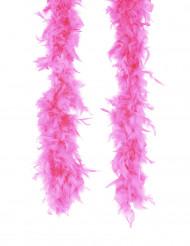 Vaalea fuksianpunainen boa / höyhenpuuhka aikuisille - 50 g