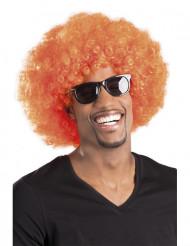Oranssi afroperuukki aikuiselle