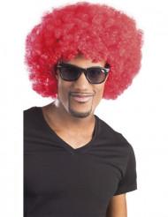 Punainen peruukki XL