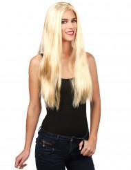 Naisten vaalea peruukki