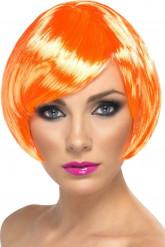 Naisten lyhyt peruukki, oranssi