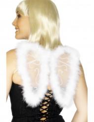 Valkoiset enkelin siivet aikuiselle