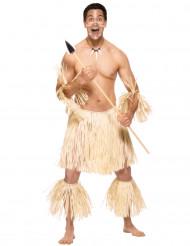 Miesten maorisoturi naamiaispuku