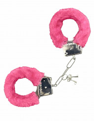 Pinkit pörröiset käsiraudat