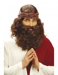 Profeetan parrallinen peruukki miehille