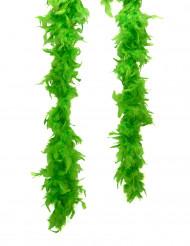Pimeässä hohtava vihreä boa/ höyhenpuuhka - 50 g