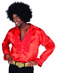 Miehen punainen discopaita