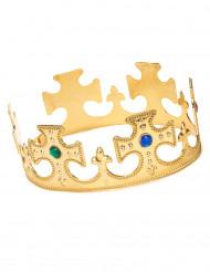 Kullanvärinen kruunu miehille