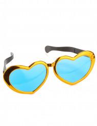Jättikokoiset sydämenmalliset lasit aikuisille