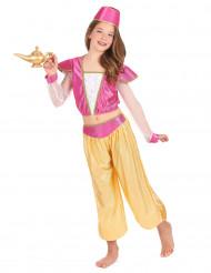 Itämaisen tanssijattaren naamiaisasu lapselle - luksus