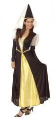 Keskiaikainen prinsessa-asu
