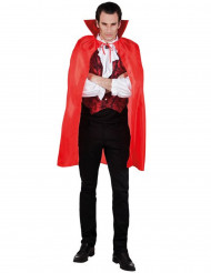 Vampyyrin punainen viitta miehelle 120 cm halloween