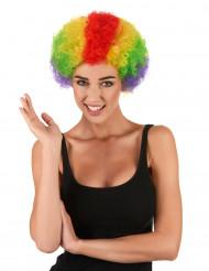 Värikäs afroperuukki aikuisille