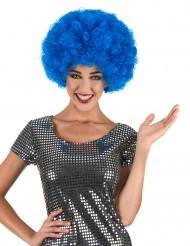 Sininen afroperuukki aikuisille