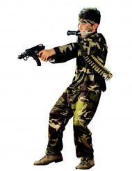 Sotilaan maastoasu lapsille