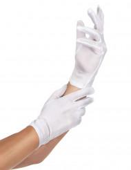 Valkoiset hansikkaat aikuisille