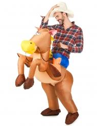 Puhallettava hevospuku aikuisille