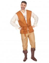 Keskiaikainen kauppias -asu miehille
