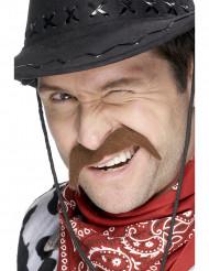 Cowboy-viikset aikuiselle