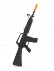 Muovinen M16 kivääri