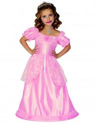 Vaaleanpunainen prinsessamekko lapsille