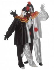Pierrot-hahmon naamiaisasu aikuiselle