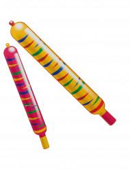 Värikkäät raketti-ilmapallot, 8 kpl
