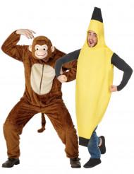 Apina ja banaani-pariasu aikuisille
