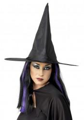 Naisten musta noidan hattu Halloween