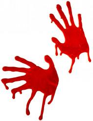 Veriset kädenjäljet- koriste halloween