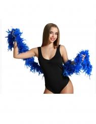 Sininen boa/ höyhenpuuhka aikuisille