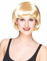 Naisten lyhyt vaalea peruukki