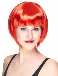 Naisten lyhyt punainen peruukki