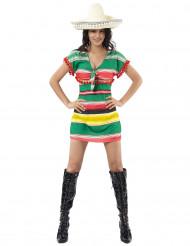 Meksikolainen mekko aikuiselle