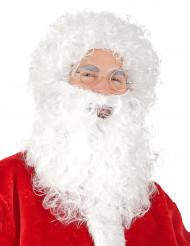 Joulupukin parta ja peruukki