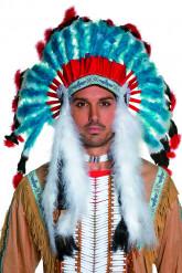 Aikuisten luksus intiaanipäähine