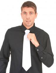Valkoinen gangsterin kravatti aikuisille
