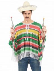Meksikolaisen naamiaisasu aikuiselle