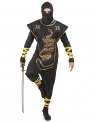 Aikuisen ninjan naamiaisasu