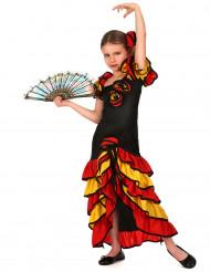Espanjalainen tanssijatar - Naamiaisasu tytölle