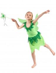 Lasten vihreä keijuasu