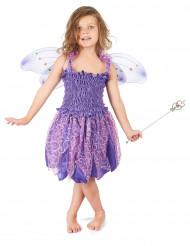 Lasten violetti keijuasu