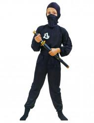 Musta ninja-asu lapsille