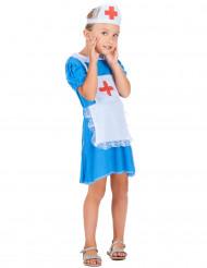 Sairaanhoitajan sininen mekko - Naamiaisasu lapsille