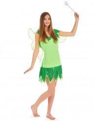Naisten vihreä keijukaisasu